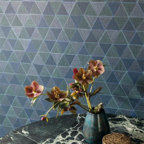 Papier peint Kona Sapphire -OMBRA- Masureel OMB501