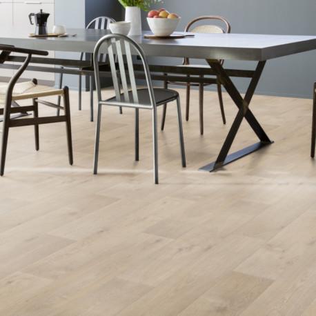 Revêtement PVC - Largeur 4m - Timber Clear parquet clair - Primetex Gerflor