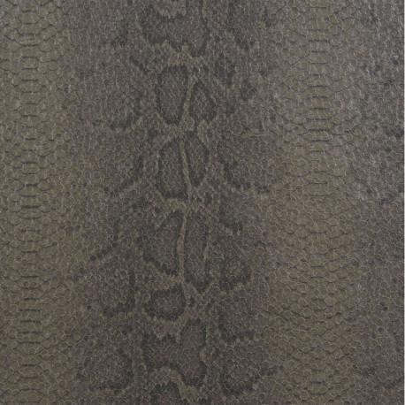 Papier peint vinyle PYTHON taupe - Collection ELIXIR - CASAMANCE