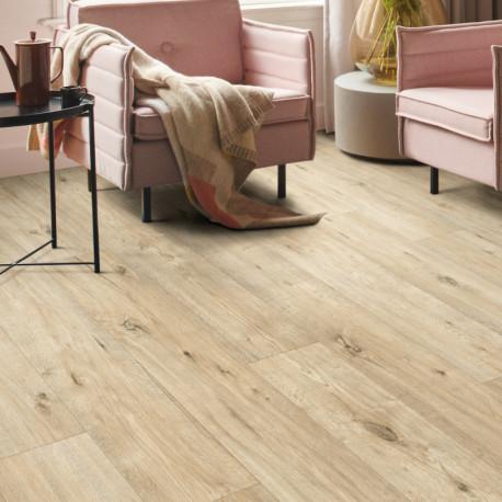 Sol vinyle - Largeur 4m - ANAPURNA parquet bois clair 532 - texmark IVC
