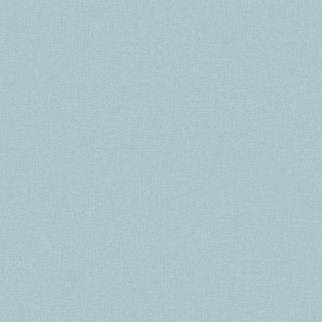 Papier peint PANAMA UNI bleu clair JF1306 - JUNGLE FEVER - Grandeco