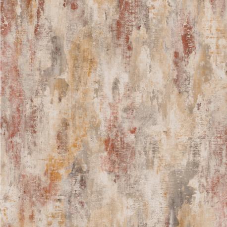 Papier peint à motif BOSA PLAIN rouge JF1103 - JUNGLE FEVER - Grandeco