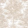 Papier peint à motif COSY NEST blanc or PTB101801024 - THE PLACE TO BED - CASELIO