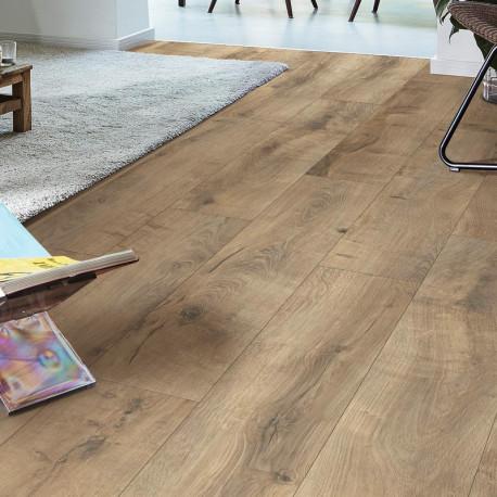 Revêtement de sol stratifié chêne fissuré Terra 6439 LD 150 - Meisterdesign laminate