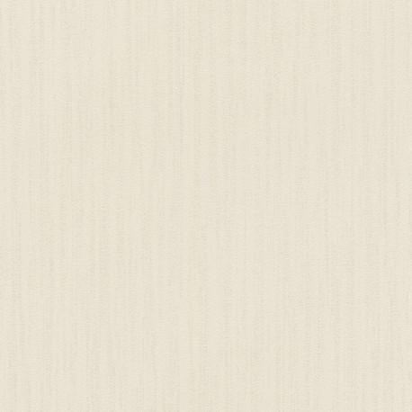 Papier peint faux uni MEXICO cream 535228 - YUCATAN - RASCH
