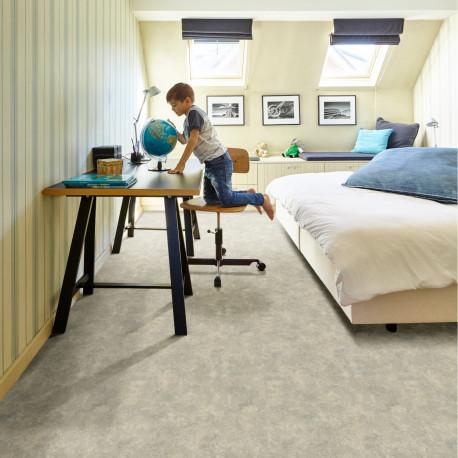 Sol PVC - Tiffany 900L béton marbré gris beige - Inspire BEAUFLOR - rouleau 4M