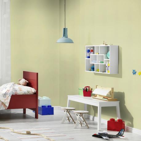 Papier peint Uni vert clair - BAMBINO - Rasch - BBN531435