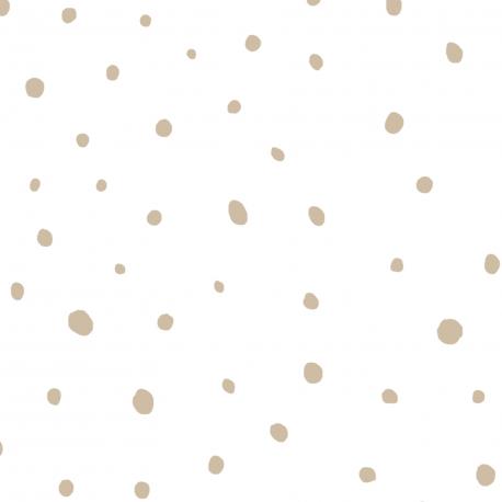 Papier peint Plumetis beige - BABY LAND - Lutèce 5451