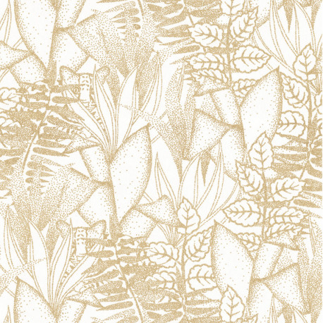 Papier peint Altaica blanc - ORPHEE - Casamance - 74710610
