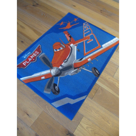 Tapis Disney Enfant - Planes : Dusty - 95x133cm