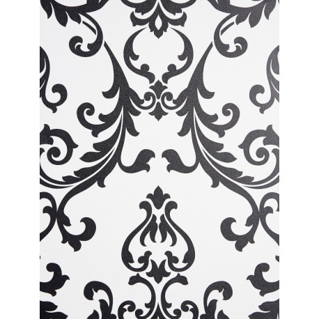 Papier peint Heloïse noir et blanc - LOVE - Caselio - LOV63939063