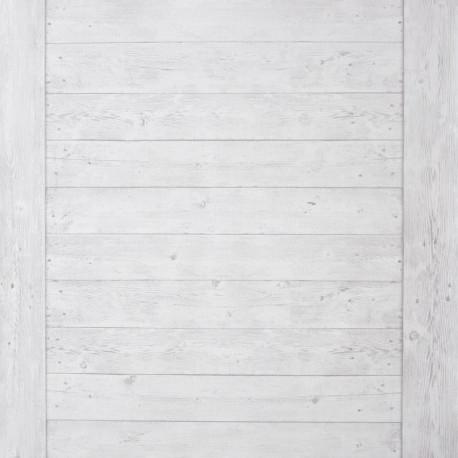 Papier peint Echelle Bois blanc cassé - METAPHORE - Caselio - MTE65570000
