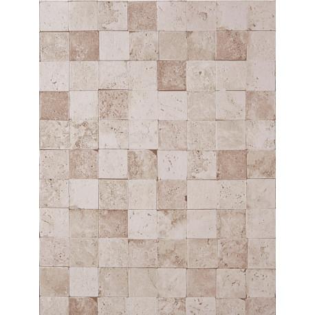 Papier peint Carreaux de Pierre beige - METAPHORE - Caselio - MTE65641009
