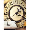 Panoramique Horloge beige - METAPHORE - Caselio - MTE65712030