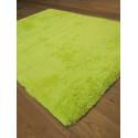 Tapis Shaggy Como - 115x160 cm - Vert
