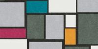 Tapis déco motifs tendances plusieurs couleurs