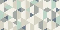 Tapis motif géométrique