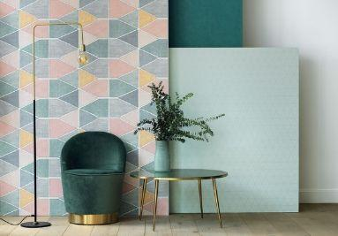 Collection de papier peint pastel scandinave NOVA Casadeco